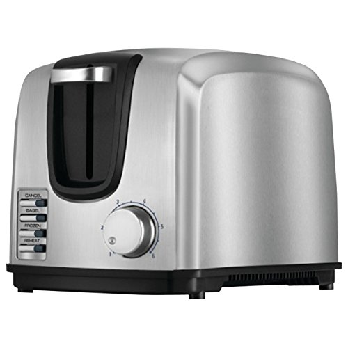 Black & Decker T2707S 2-Slice Stainless-Steel Toaster, Silver