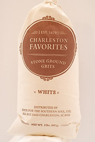 Charleston Favorites Stone Ground Grits – White 2 Lbs