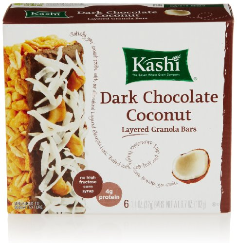 Kashi Layered Granola Bar, Dark Chocolate Coconut, 6 count