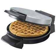 Black & Decker Chrome Belgian Waffle Maker WMB505