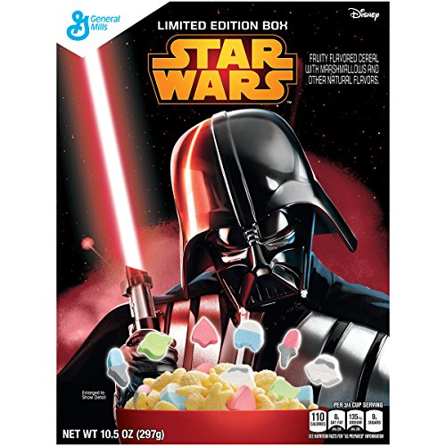 General Mills Cereals Star Wars Cereal, 10.5 Ounce