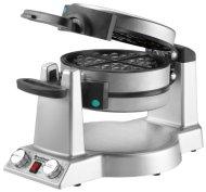 Waring WMR300 Belgian Waffle & Omelet Maker, Brushed Stainless Steel