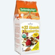 Seitenbacher Muesli #22 – Rapsberries & Almonds 16 Oz (12 Pack Case)