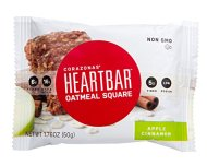 Heartbar Oatmeal Square Bar, Apple Cinnamon, 1.76 Ounce (Pack of 12)