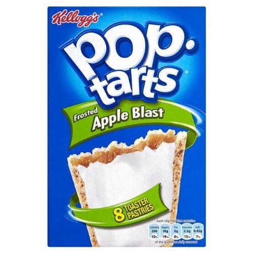 POP Tarts Apple Blast 8 Count Box (3) Uk Import