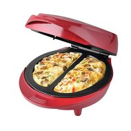 New Electric Non-Stick double omelette maker red.