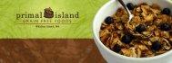 Pale Granola, Grain-free, Gluten-free