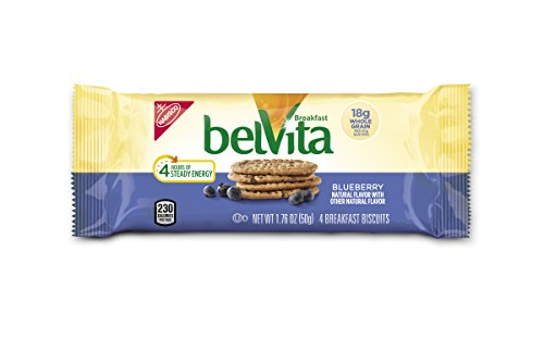 belVita Breakfast Biscuits, Blueberry, 8 Count, 14.08 Ounce
