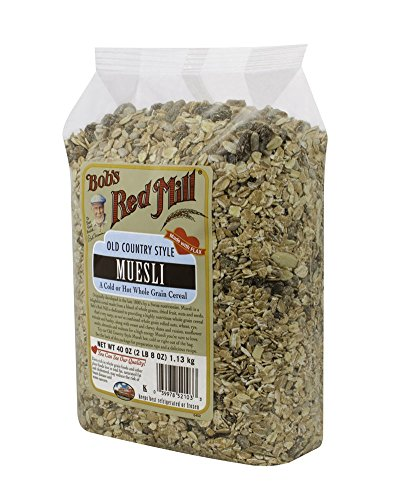 Bob's Red Mill Old Country Style Muesli Cereal, 40-ounce (Pack of 4)