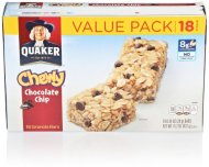 Quaker Chewy Granola Bars, Chocolate Chip, 18 Count