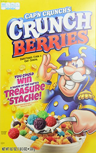 Cap'N Crunch's Crunch Berries, 18.7-Ounce