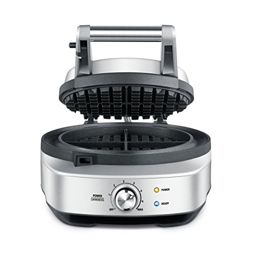 Breville No-Mess Round Waffle Maker BWM520XL