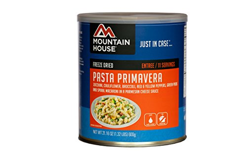 Mountain House #10 Can Pasta Primavera (11 – 1 cup servings)