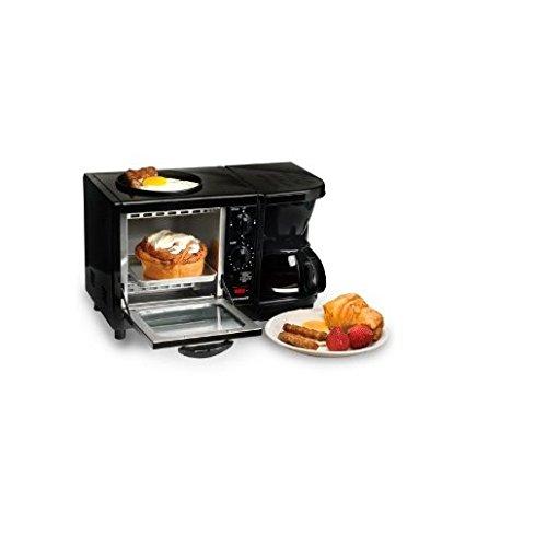 Maxi Matic Versatile 3-in-1 Mini Breakfast Maker-Black