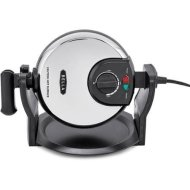 Bella 14449 Ceramic Rotating Waffle Maker with Delicious BELLA recipes included, Silver