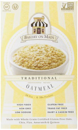 Bakery On Main Instant Oatmeal, No Sugar Added, 50g, 6 Count