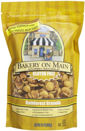 Bakery on Main Gluten Free Granola – Rainforest – 12 oz