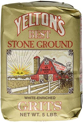 Yelton's Best Stone Ground White Grits – 5 lb