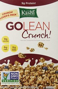 Kashi GOLEAN Crunch! Cereal, 21.3-Ounce Boxes (Pack of 3)