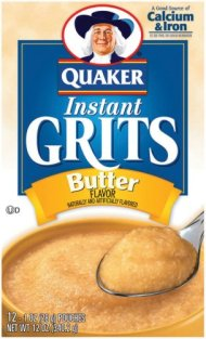 Quaker Oats Instant Grits Real Butter, 12 Ounce