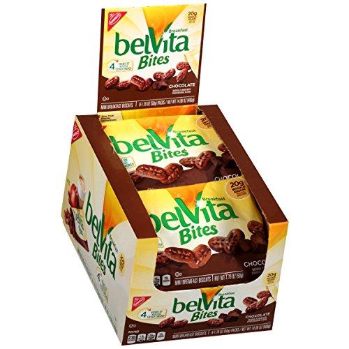 belVita Bites Breakfast Biscuits, Chocolate, 14.08 Ounce
