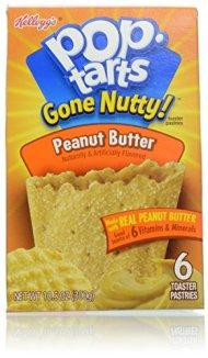 Kellogg's Pop Tarts Gone Nutty Peanut Butter, 10.5 Ounce