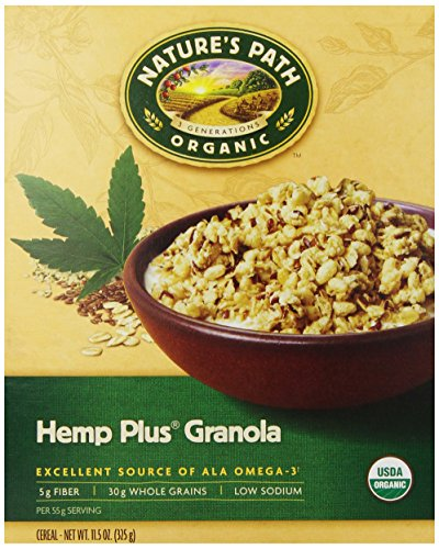 Nature's Path, HempPlus Granola Cereal, 11.5 oz