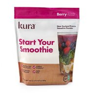 Kura Protein Smoothie Powder – Berry, 16.9 Ounces