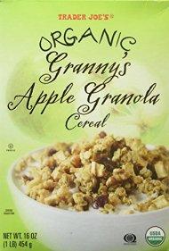 Trader Joe's Organic Granny's Apple Granola Cereal