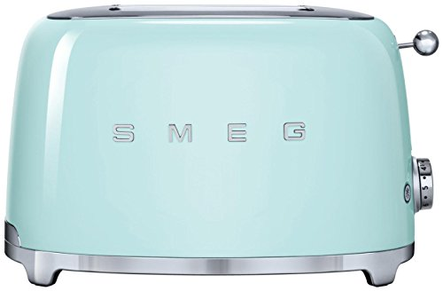 Smeg 2-Slice Toaster-Pastel Green