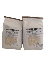 Weisenberger Mills Southern White Grits Non GMO – A Ky Proud Product 2lb Ea Pkg 2 Packs