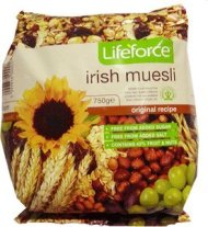 LifeForce Irish Muesli 750g (26.4oz)