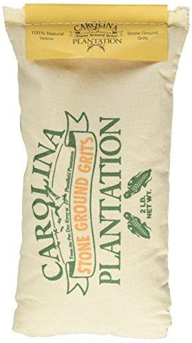 Carolina Plantation Stone Ground Yellow Grits – 2 Lb Bag