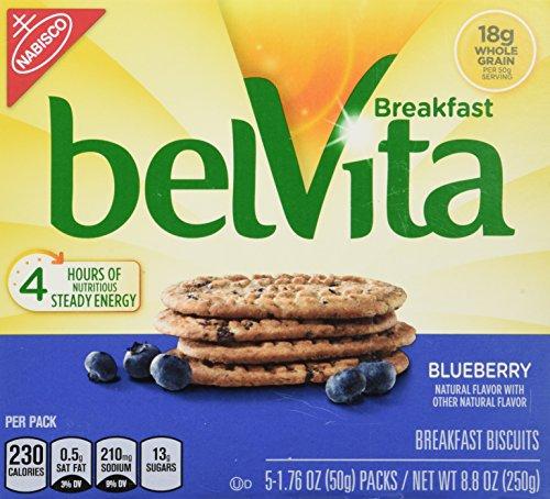 belVita Breakfast Biscuits, Blueberry Breakfast Biscuits, 8.8 oz