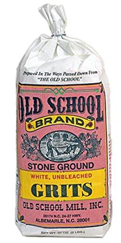 Stone Ground White Grits 2 Pound Bag Non GMO