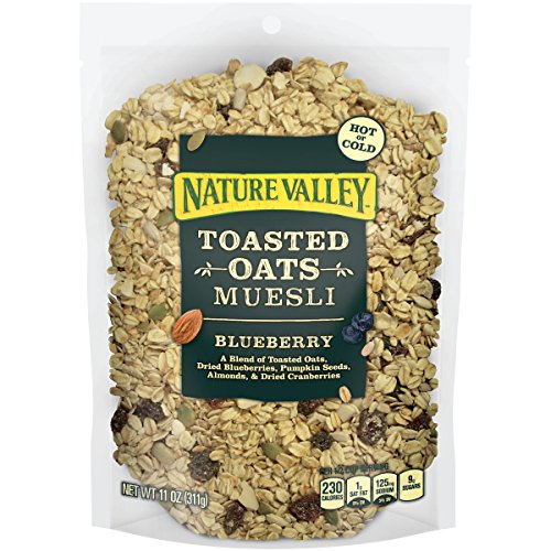 Nature Valley Toasted Oats Muesli, Blueberry, 11 Ounce