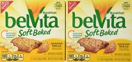Nabisco Belvita Soft Baked Banana Bread Flavored Breakfast Biscuits, 5 packs – 1.76 oz. ea., (Pack of 2)
