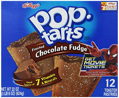 Kellogg's Pop-Tarts Frosted Chocolate Fudge, 12 ct, 22 oz