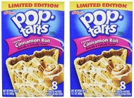 Kelloggs Pop-Tarts Cinnamon Roll, 8 ct, 14.1 oz (Pack of 2)