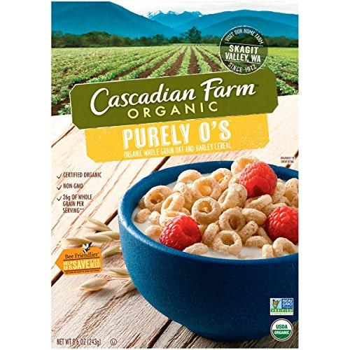 Cascadian Farm, Purely O'S Organic Cereal, 9 oz