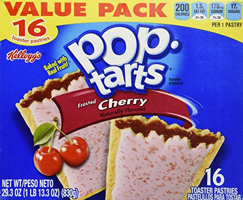 Kellogg's Frosted Cherry Pop-Tarts 16 Count