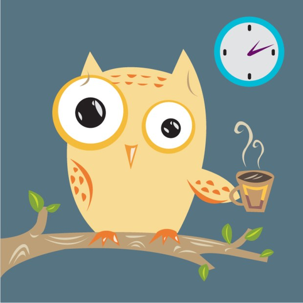insomnia can be thought of as the down side to being a night owl