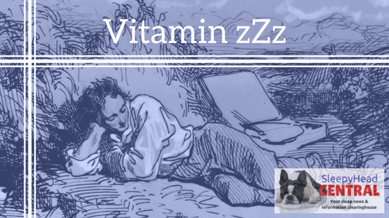 vitamin zzz literary writing about sleep