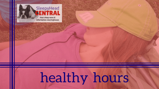 healthy hours page badge