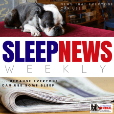 "shc SLEEP NEWS logo ""fired for sleep apnea"""