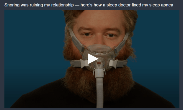 fix sleep apnea snoring bed partner sleep