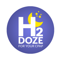 H2Doze distilled water PAP CPAP travel