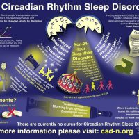 Infographic: Circadian rhythm sleep disorders and a global support group