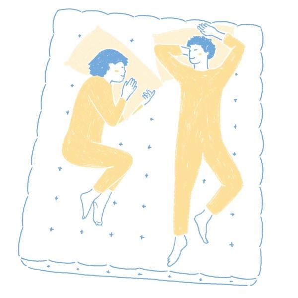 眠豆腐保潔墊|標準雙人