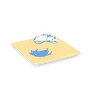 眠豆腐床架(無床頭板)|雙人加大